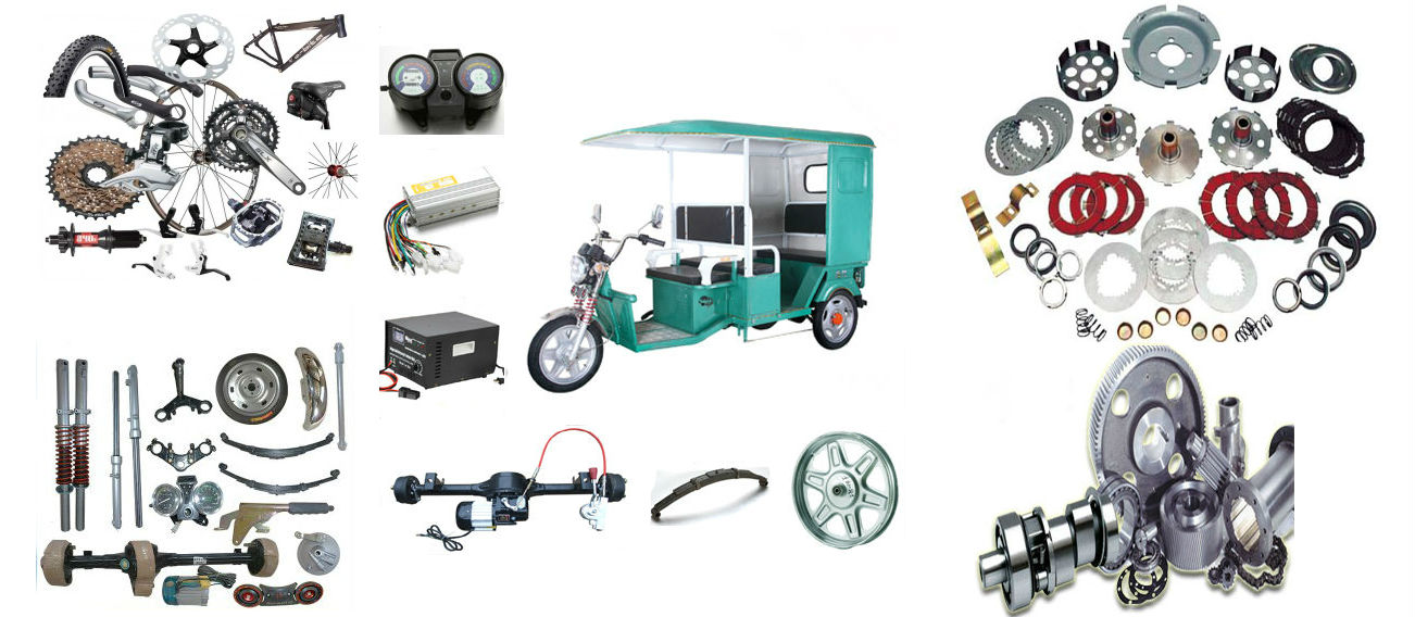 Bicycle, Rickshaw & Spares