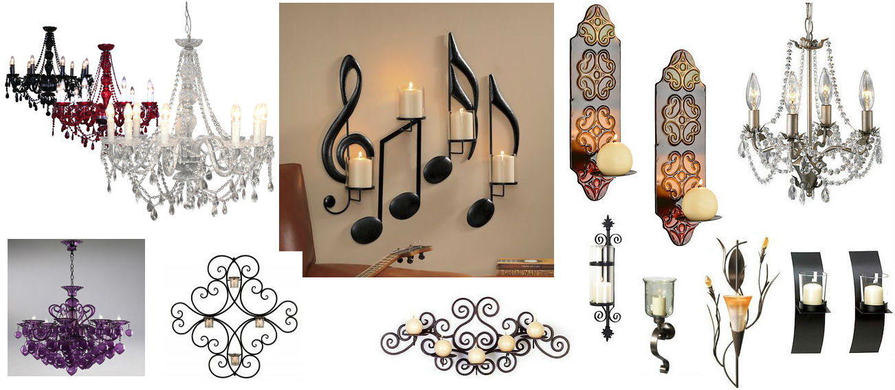 Chandeliers & Wall Sconces