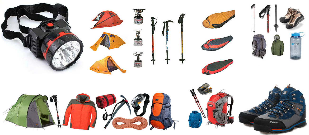 Trekking Equipments