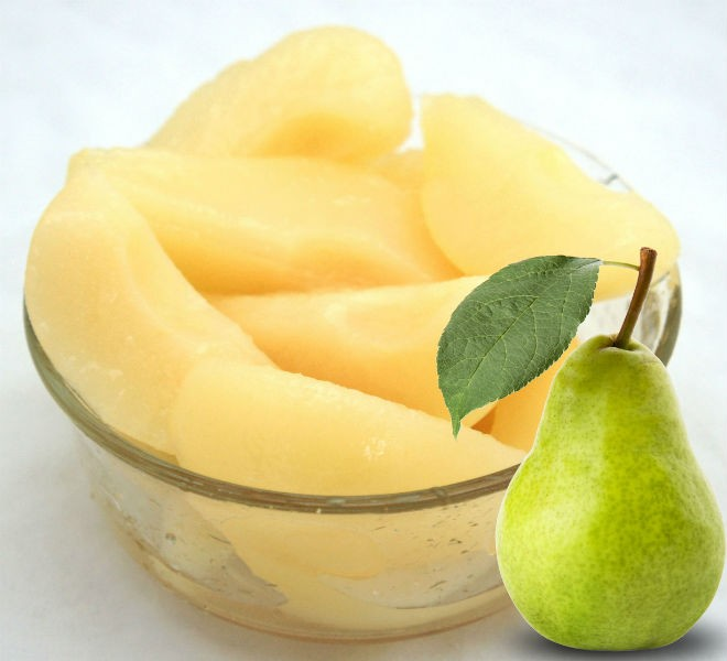 Canned Sliced Pears